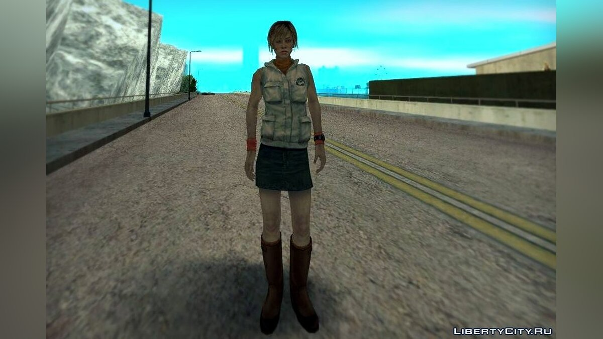 Heather Mason from Silent Hill 3 для GTA San Andreas - скриншот #2