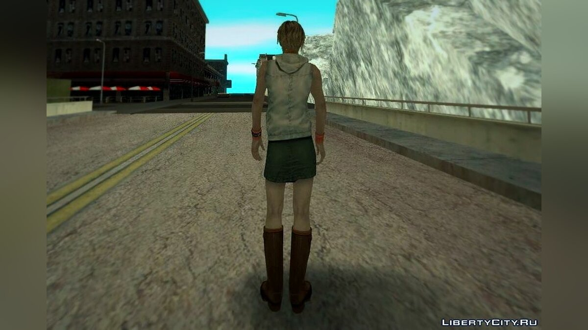 Heather Mason from Silent Hill 3 для GTA San Andreas - скриншот #3