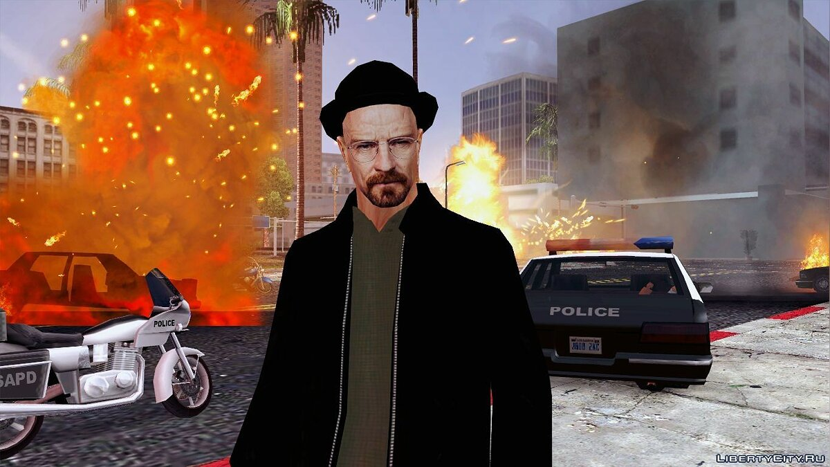 [LQ] Walter White || By: StogZ для GTA San Andreas - скриншот #2