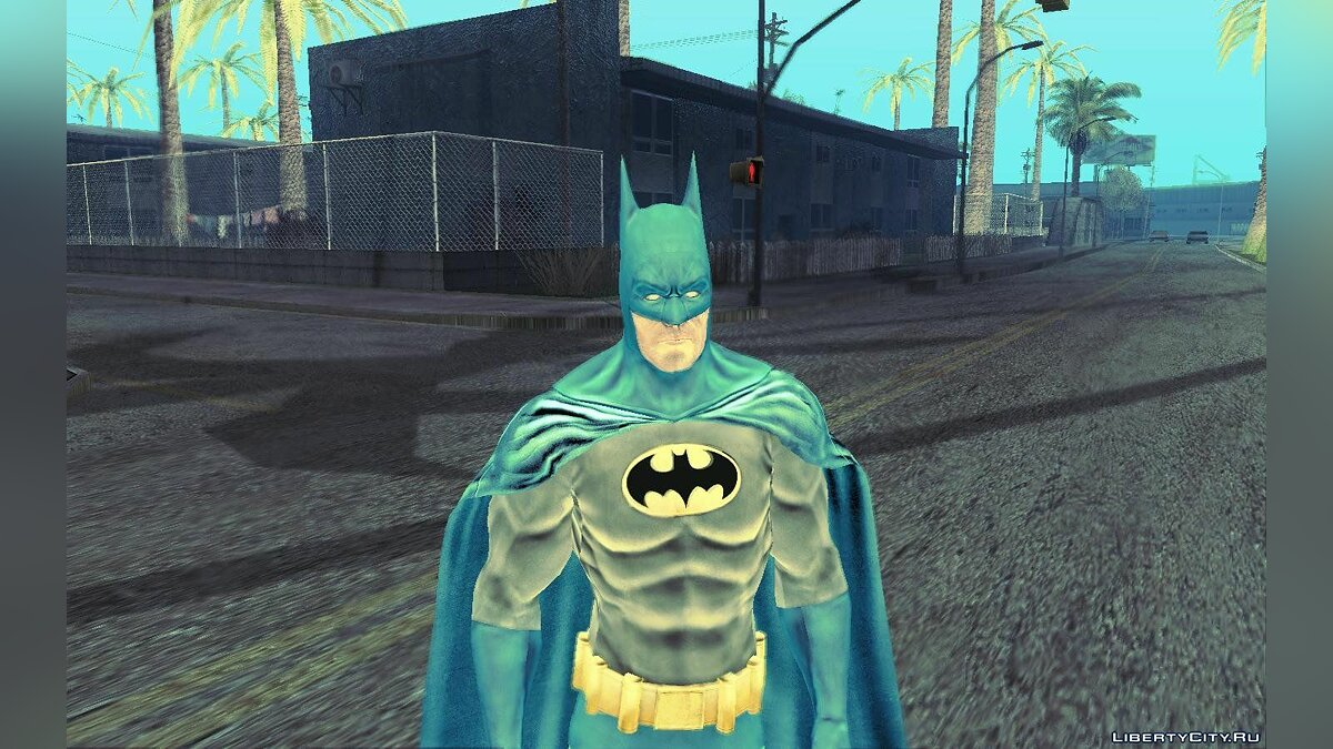 Batman AC Full Batman Skins Pack для GTA San Andreas - скриншот #3