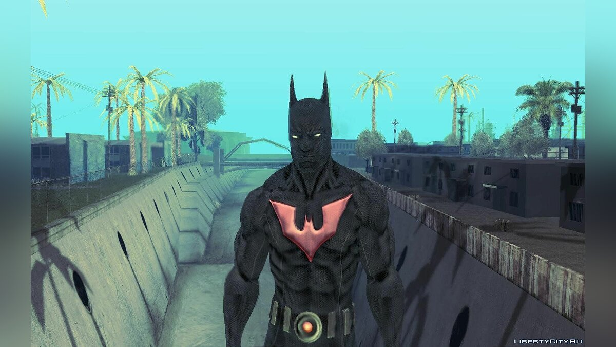 Batman AC Full Batman Skins Pack для GTA San Andreas - скриншот #5