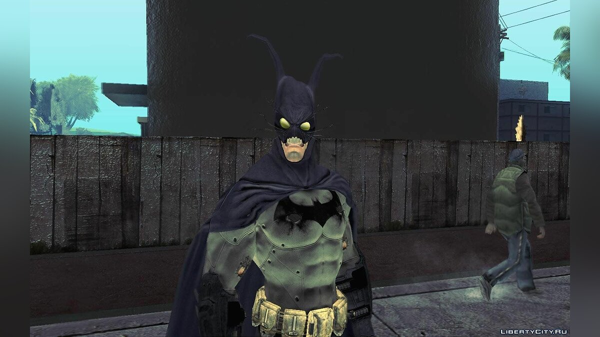 Batman AC Full Batman Skins Pack для GTA San Andreas - скриншот #2