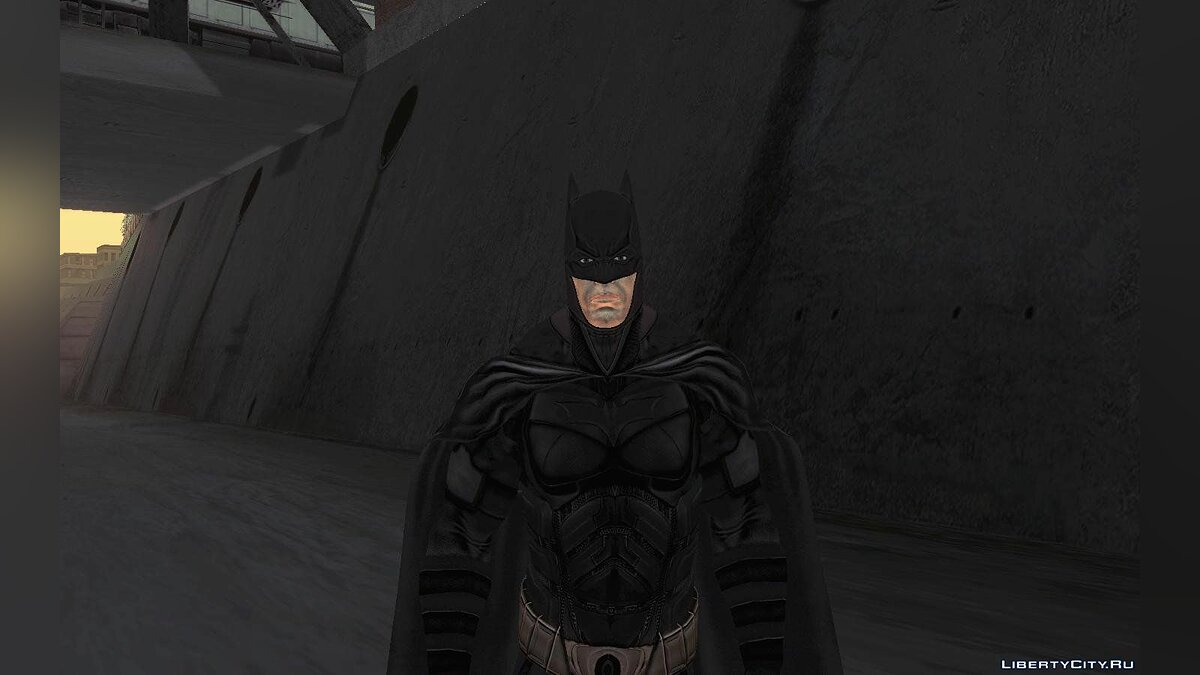 Batman AC Full Batman Skins Pack для GTA San Andreas - скриншот #4
