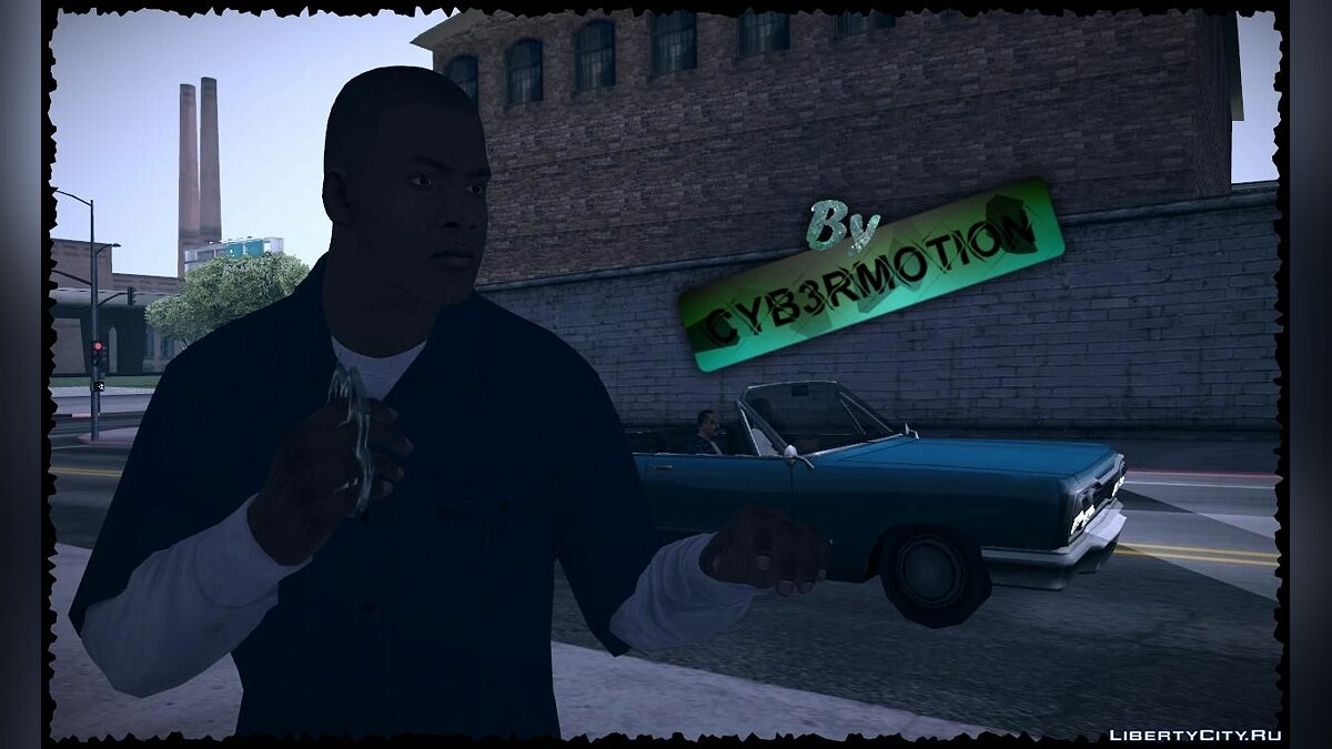 Franklin by Cyb3rMotion для GTA San Andreas - скриншот #3