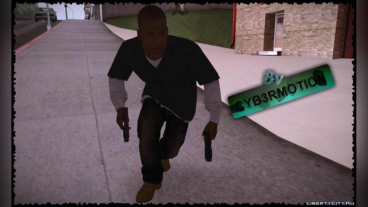 Franklin by Cyb3rMotion для GTA San Andreas - скриншот #4