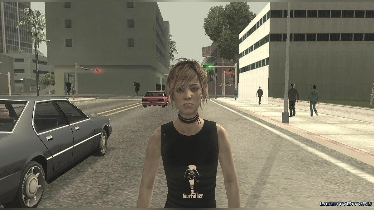 Silent Hill 3 - Heather Sporty The Darth Father для GTA San Andreas