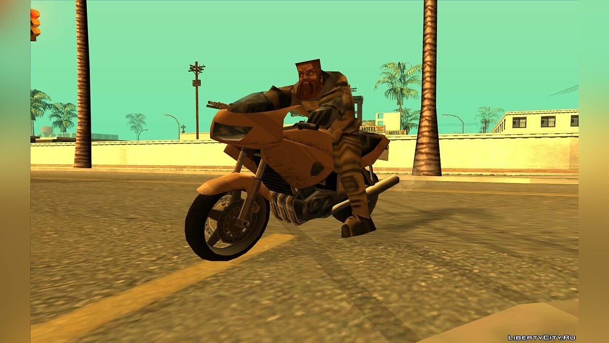 Ivan the Space Biker From Half-Life Alpha для GTA San Andreas - скриншот #4