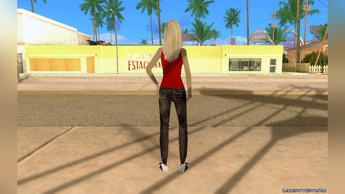 DENISE by Gedimas для GTA San Andreas - скриншот #3