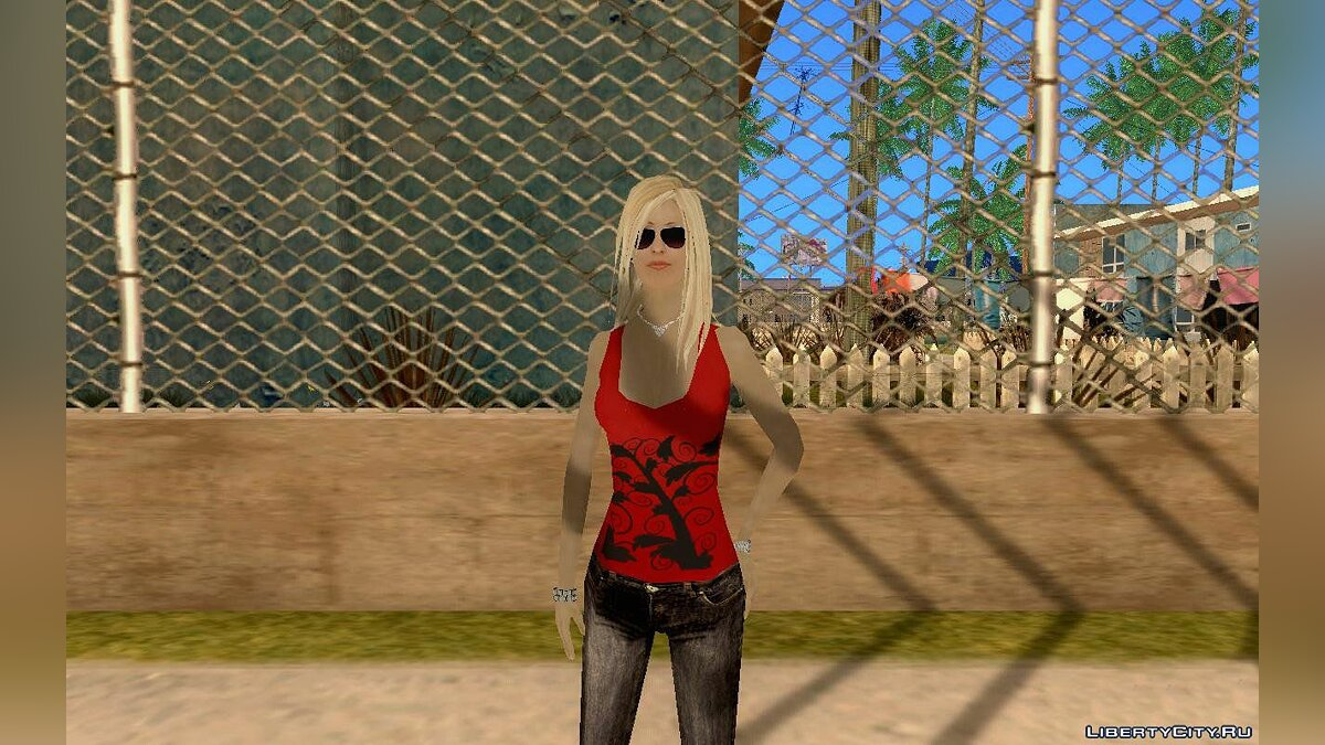 DENISE by Gedimas для GTA San Andreas