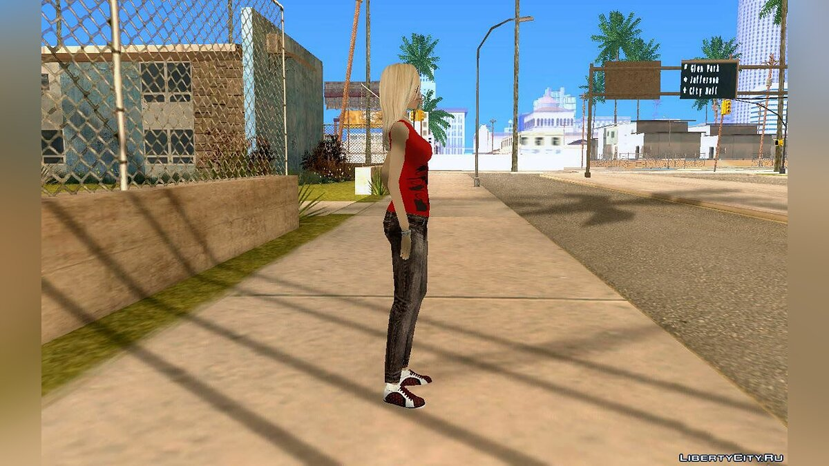 DENISE by Gedimas для GTA San Andreas - скриншот #2