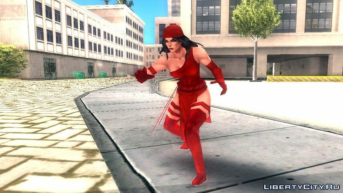 Marvel Future Fight - Elektra для GTA San Andreas