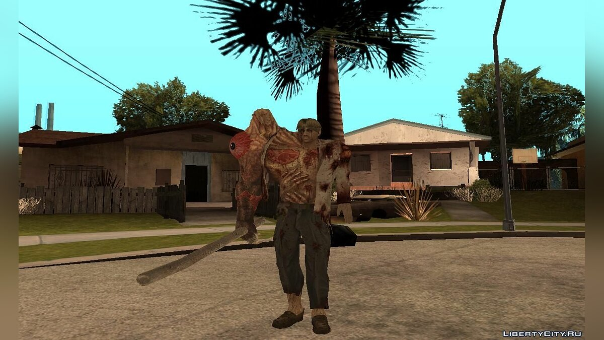 William Birkin form 1 для GTA San Andreas