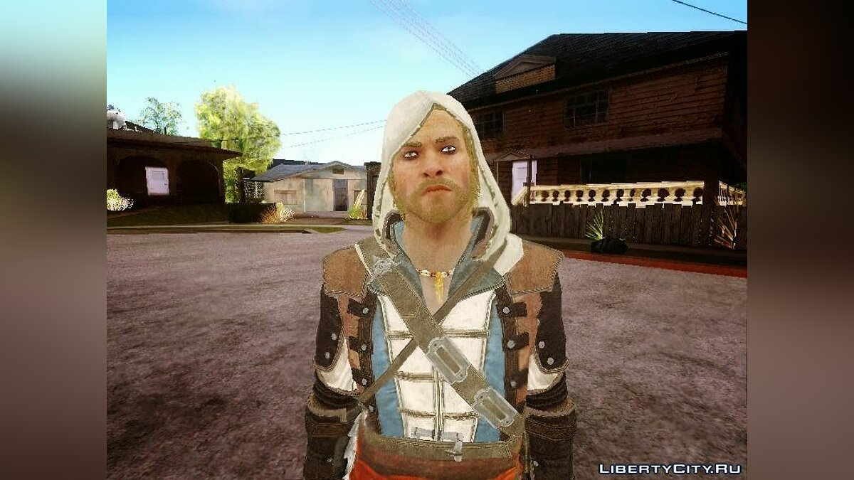 Edward Kenway from AC4 для GTA San Andreas