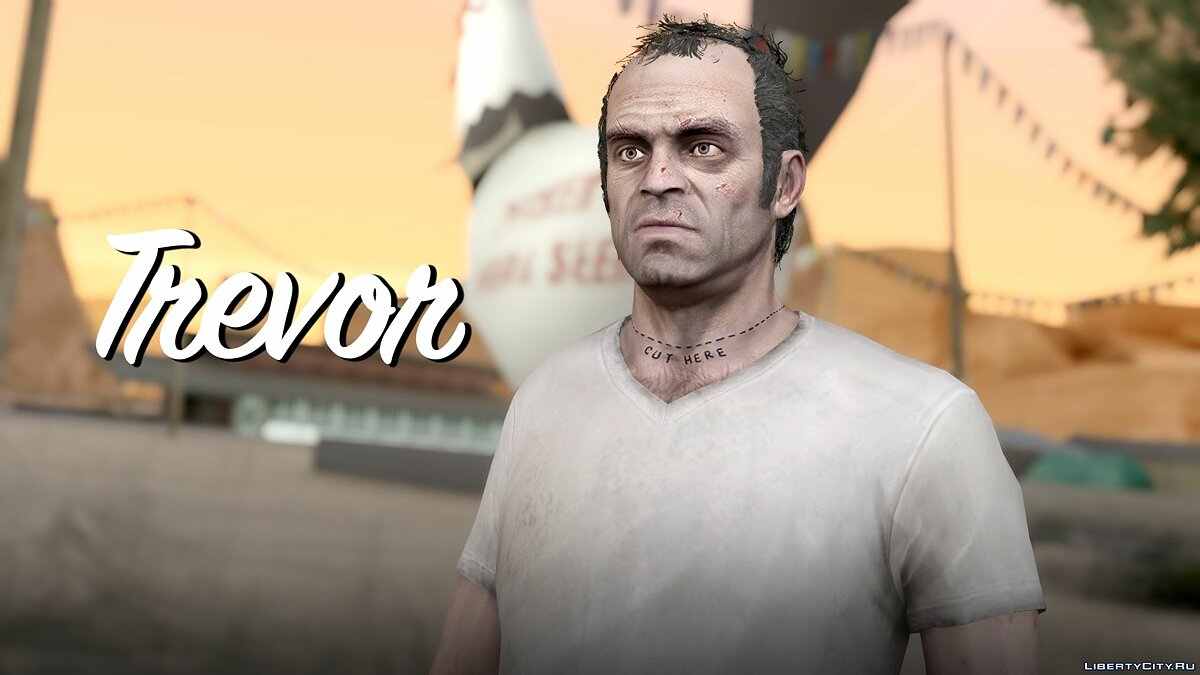 Trevor Phillips Skin Pack для GTA San Andreas