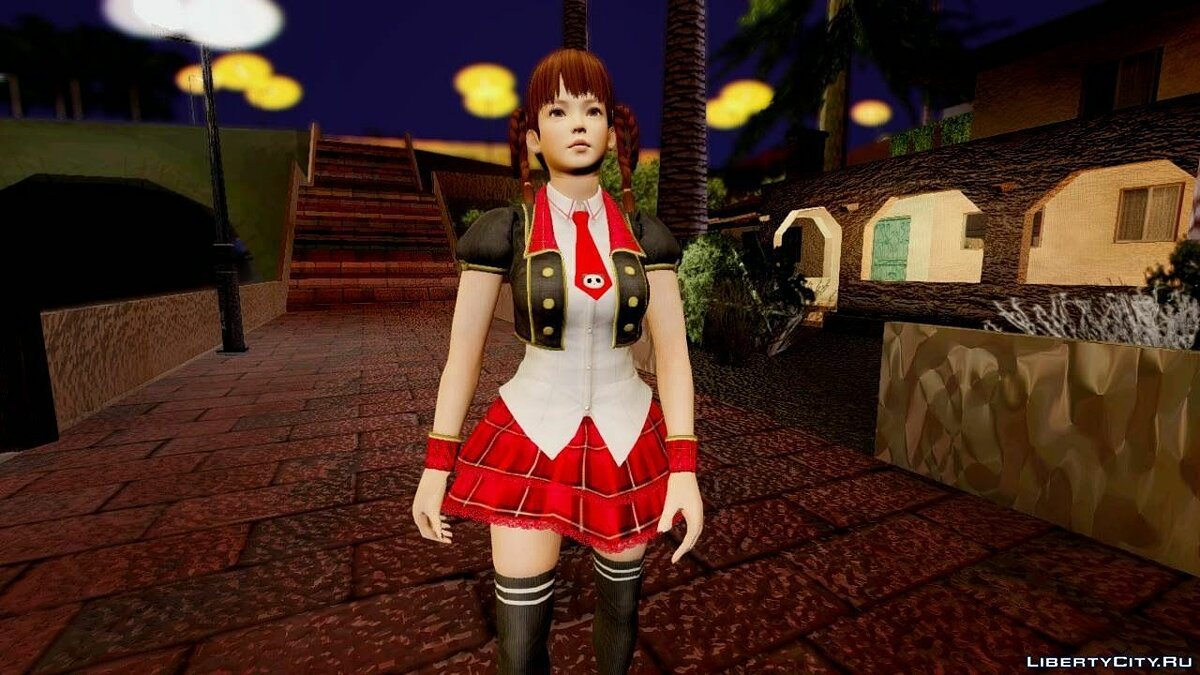Dead Or Alive 5 Lei Fang Pop Idol для GTA San Andreas