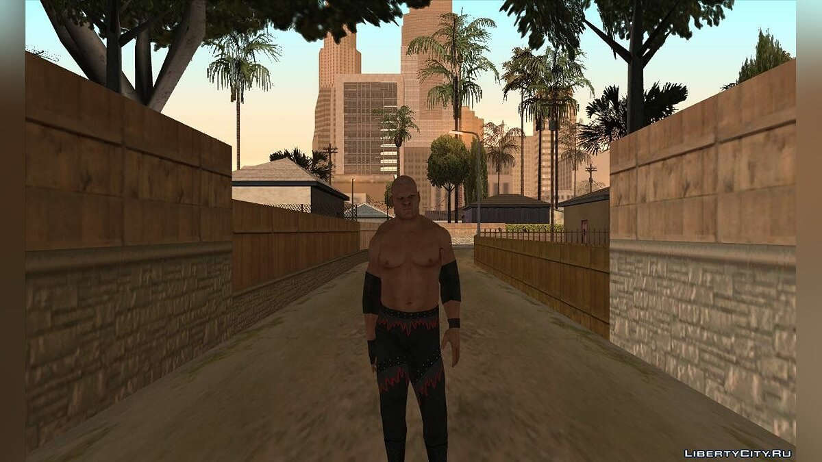 Smackdown Vs Raw 2011 Kane для GTA San Andreas