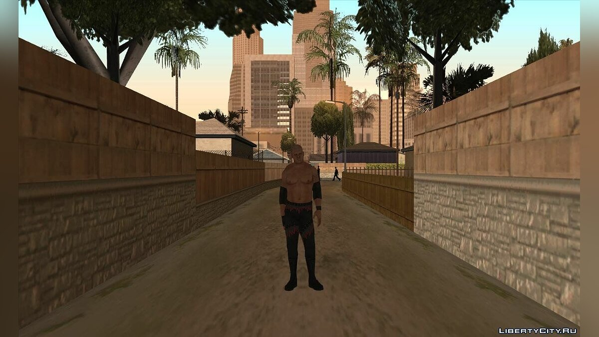 Smackdown Vs Raw 2011 Kane для GTA San Andreas - скриншот #2