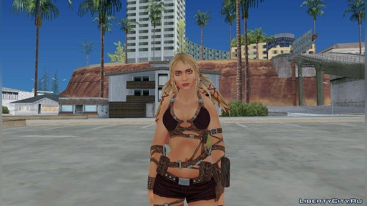 Ayumi From Blades Of Time для GTA San Andreas