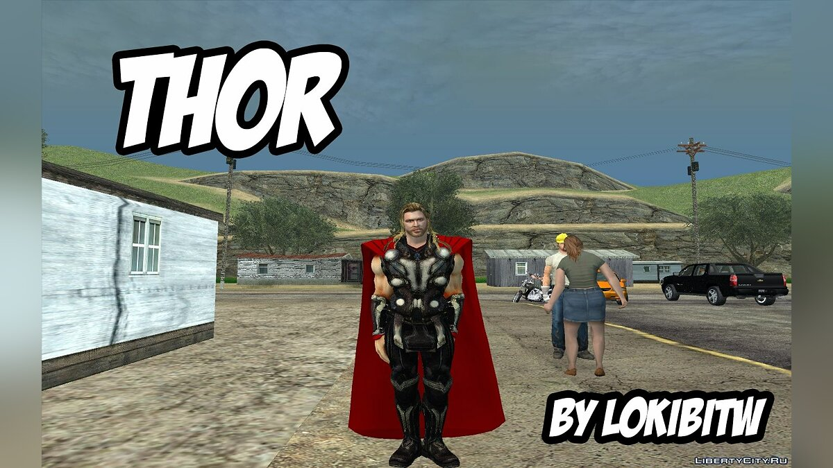 Thor from avengers 2 (By LokiBITW) для GTA San Andreas