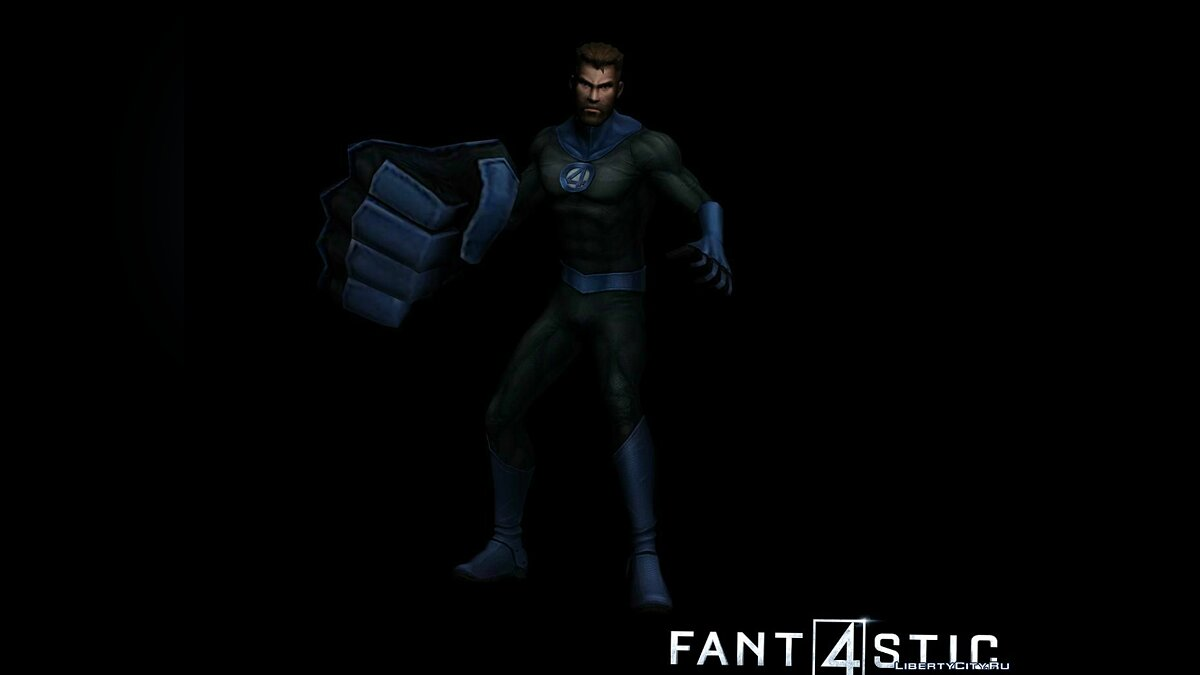 Новый персонаж Mister Fantastic (MARVEL: Future Fight) для GTA San Andreas