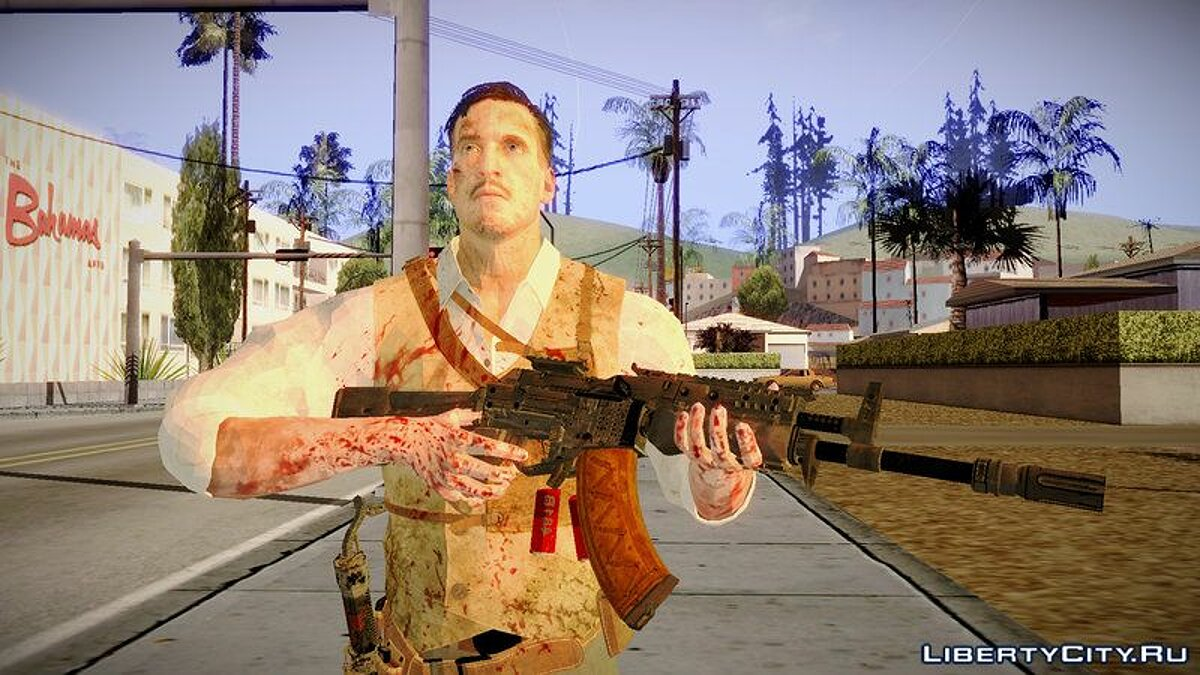 Black Ops 3 - Edward Richtofen для GTA San Andreas