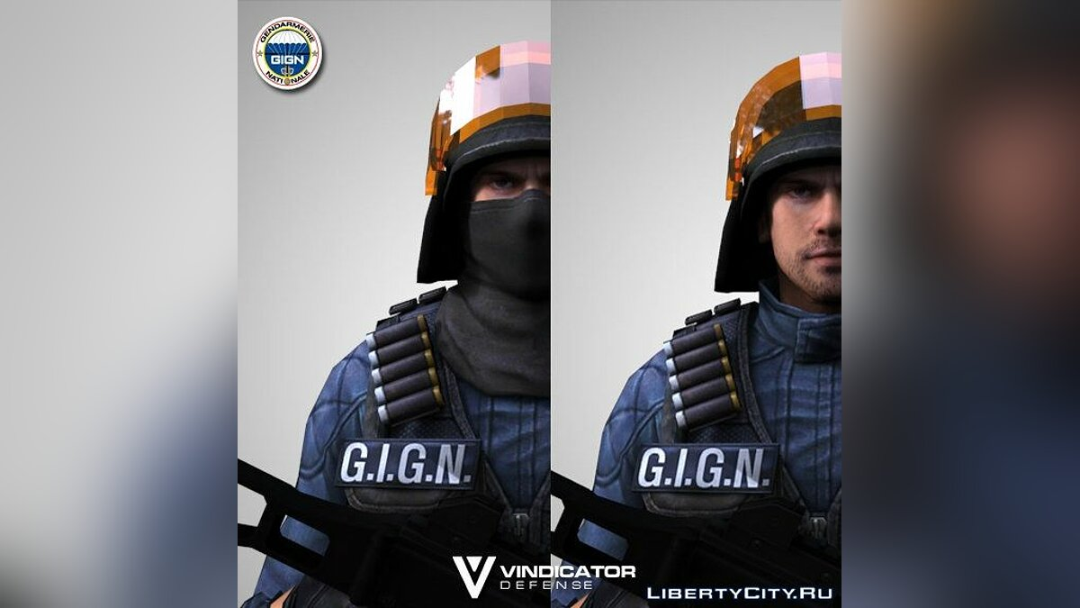 GIGN From CSO2 для GTA San Andreas