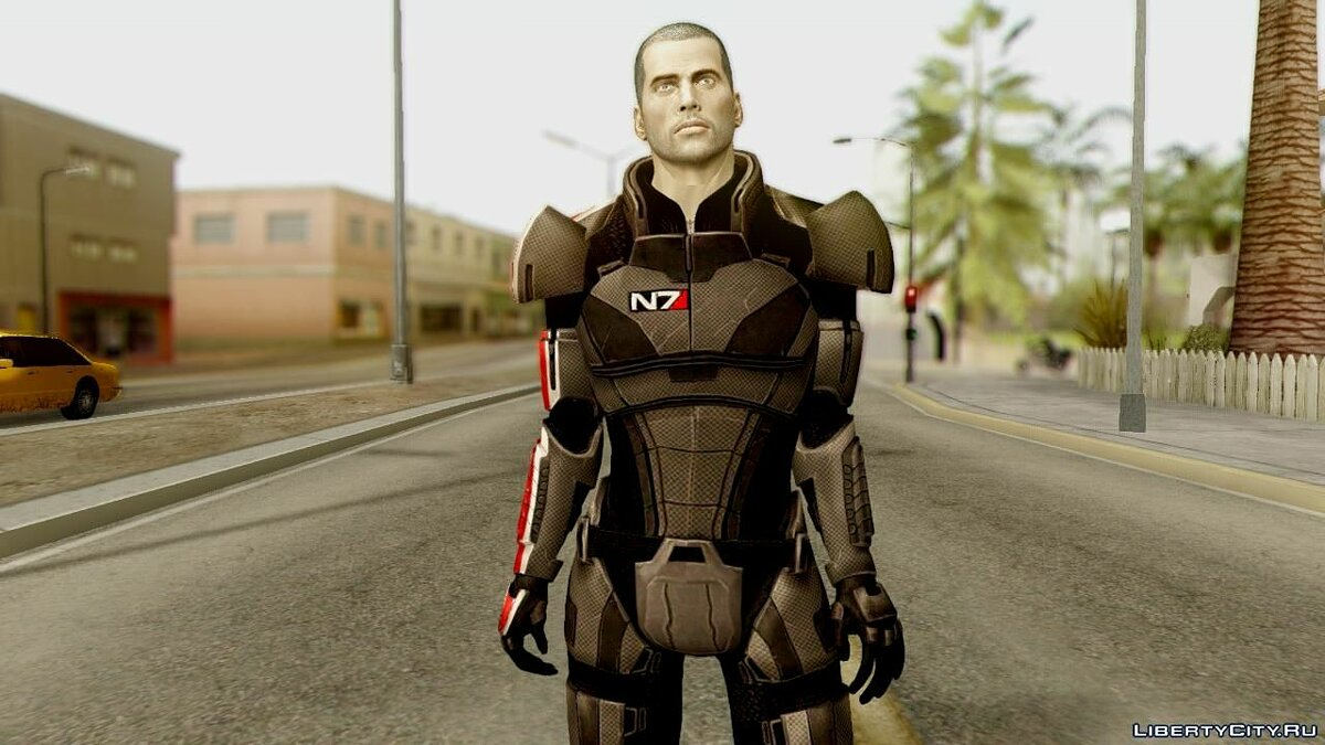 Mass Effect Mega Pack 4 для GTA San Andreas - скриншот #6