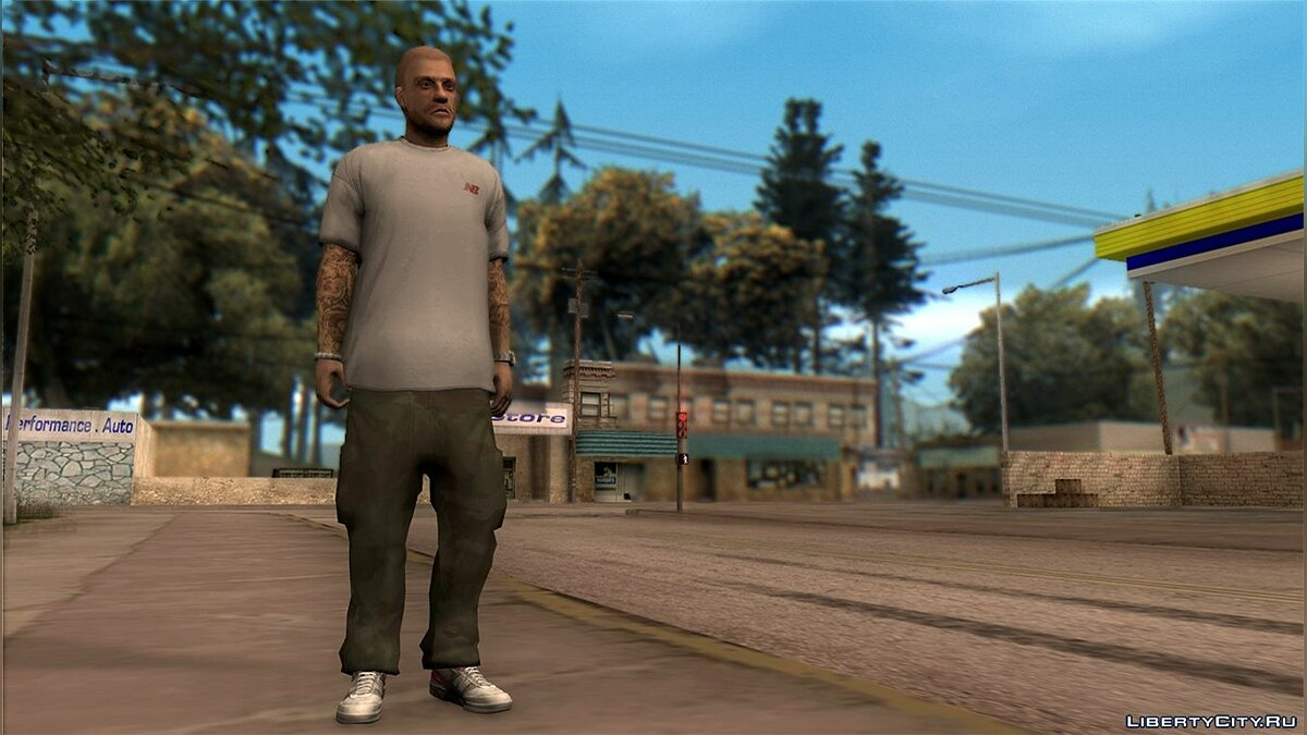 All I Wear It's NB для GTA San Andreas