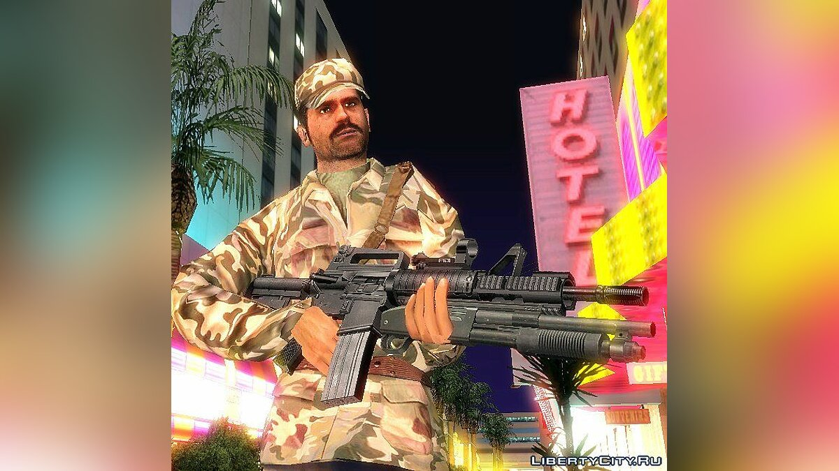 Conflict Dined Ops Army для GTA San Andreas