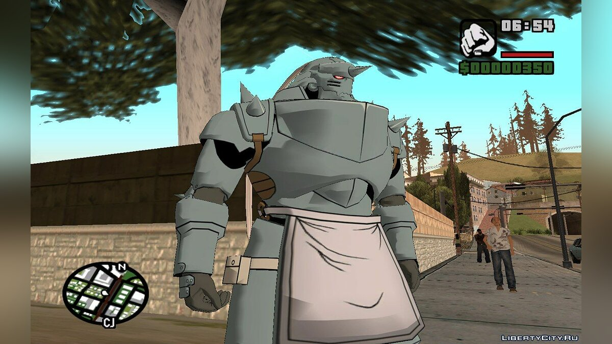 Alphonse Elric (Fullmetal Alchemist: Daughter of the Dusk) для GTA San Andreas - скриншот #8