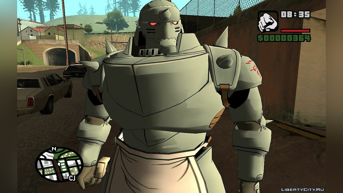 Alphonse Elric (Fullmetal Alchemist: Daughter of the Dusk) для GTA San Andreas - скриншот #3