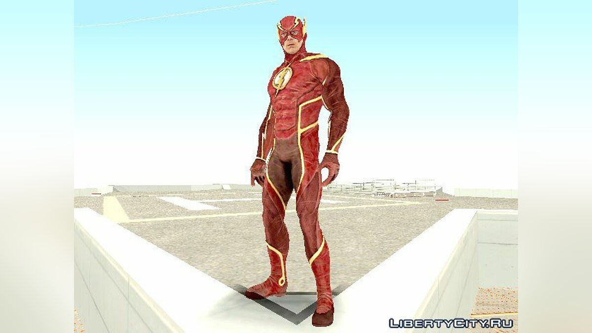 Новый персонаж Injustice 2 - The Flash для GTA San Andreas