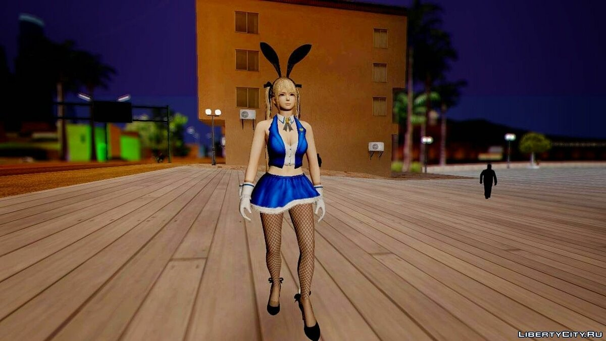 Dead Or Alive 5 Mary Rose Bunny Outfit для GTA San Andreas - скриншот #2