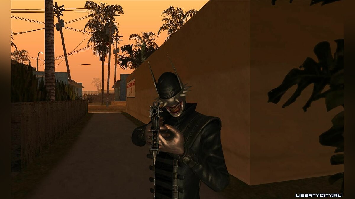 Новый персонаж The Batman Who Laughs (Injustice: Gods Among Us) для GTA San Andreas