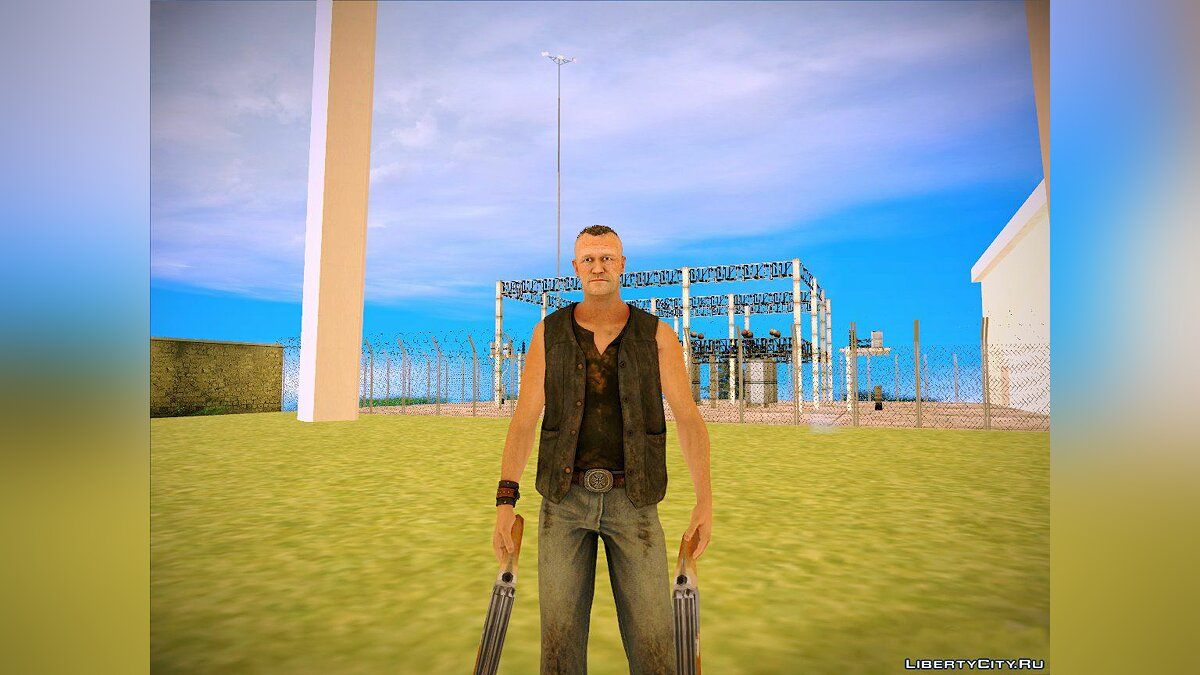 Новый персонаж Merle Dixon from The Walking Dead для GTA San Andreas