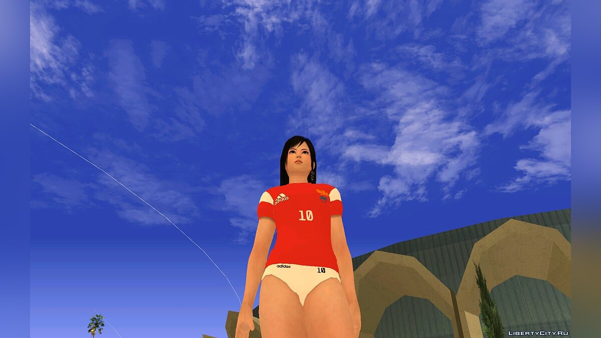 Новый персонаж Kokoro Russia national football team для GTA San Andreas