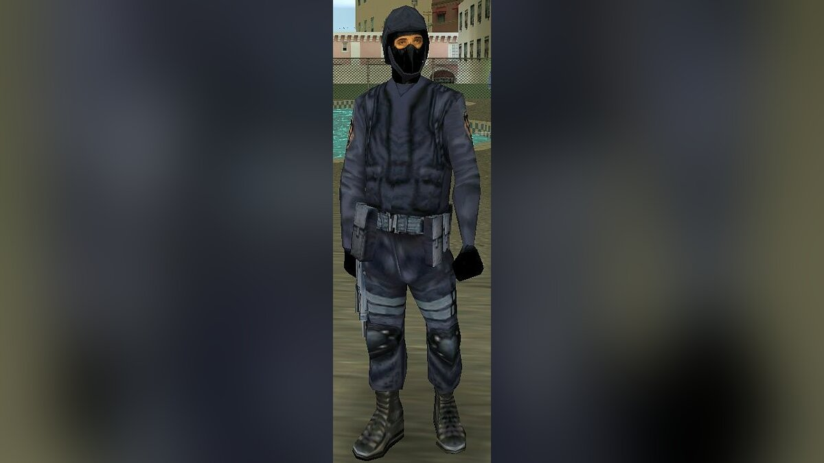 Swat from Vice City для GTA San Andreas