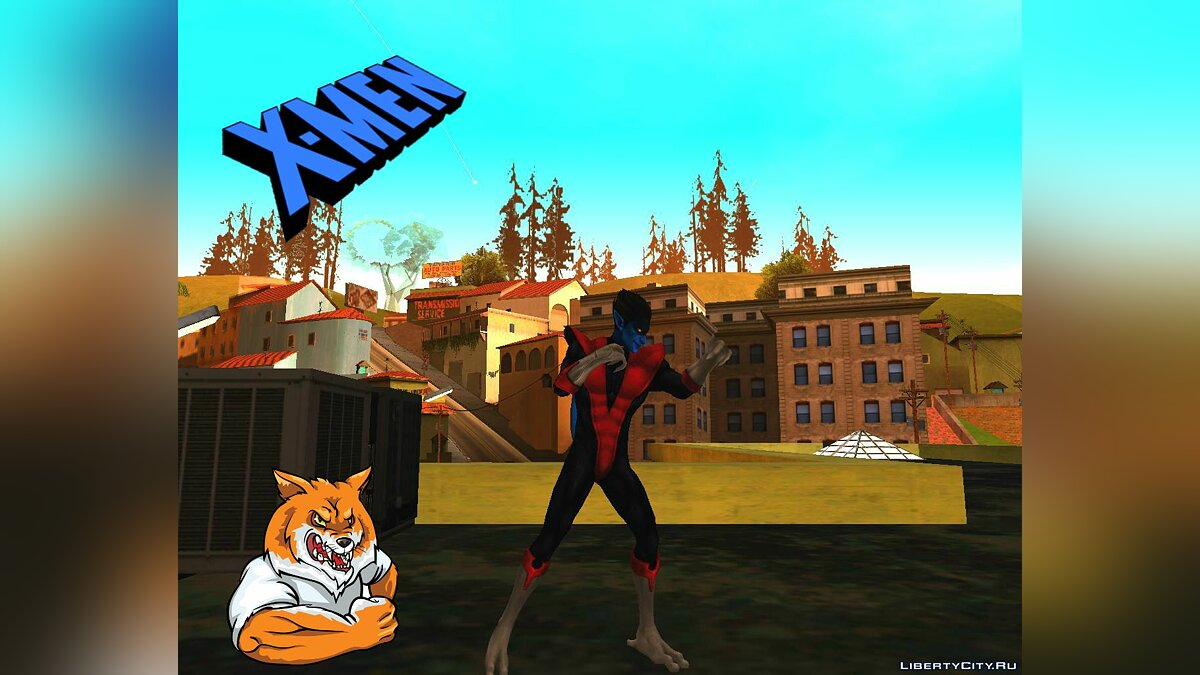 Новый персонаж Nightcrawler (MARVEL: Future Fight) для GTA San Andreas