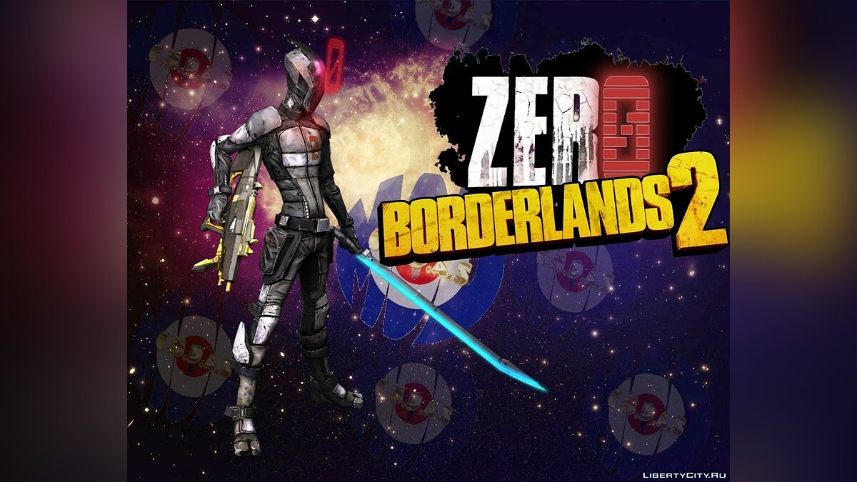 """Zero"" Borderlands 2 by C.M.D.A.S для GTA San Andreas"