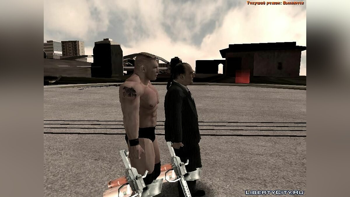 Paul Heyman SvR 2008 ps2 для GTA San Andreas - скриншот #2