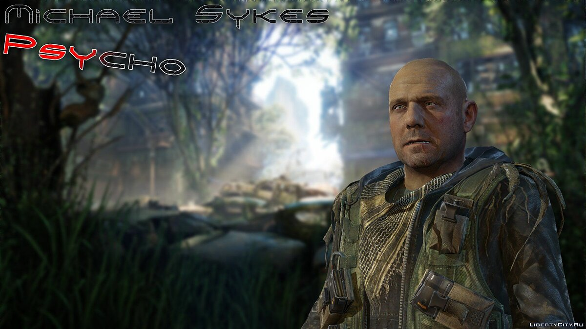 "Michael ""Psycho"" Sykes from Crysis 3 для GTA San Andreas"