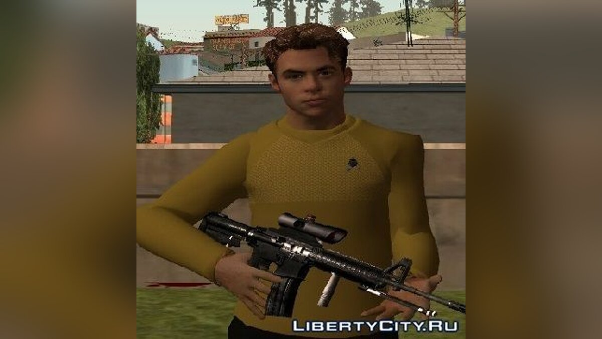 James T. Kirk From Star Trek для GTA San Andreas