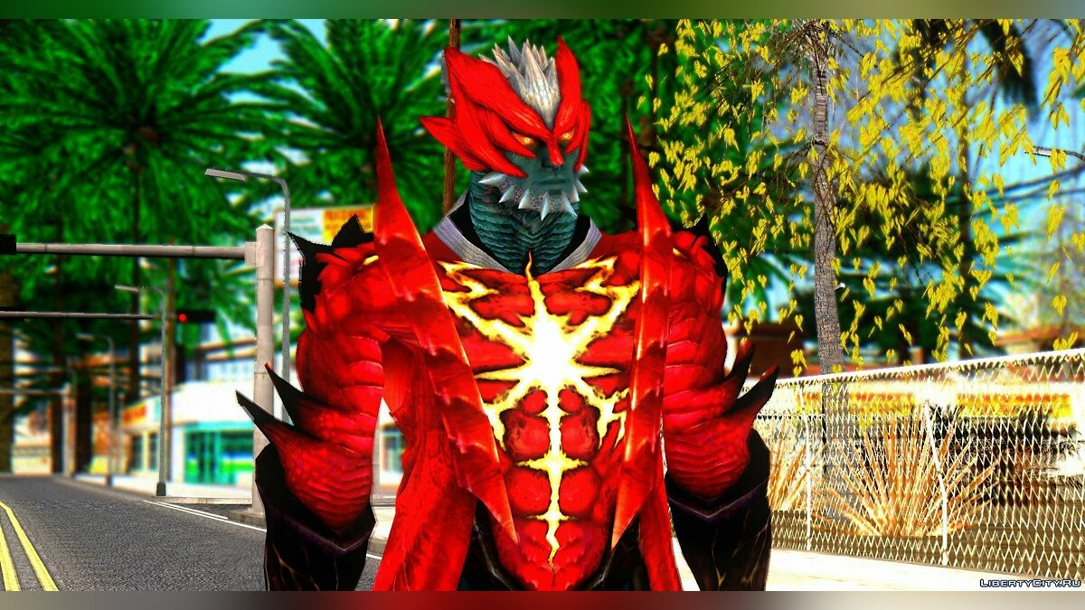Dante Demon from Devil May Cry 4 для GTA San Andreas