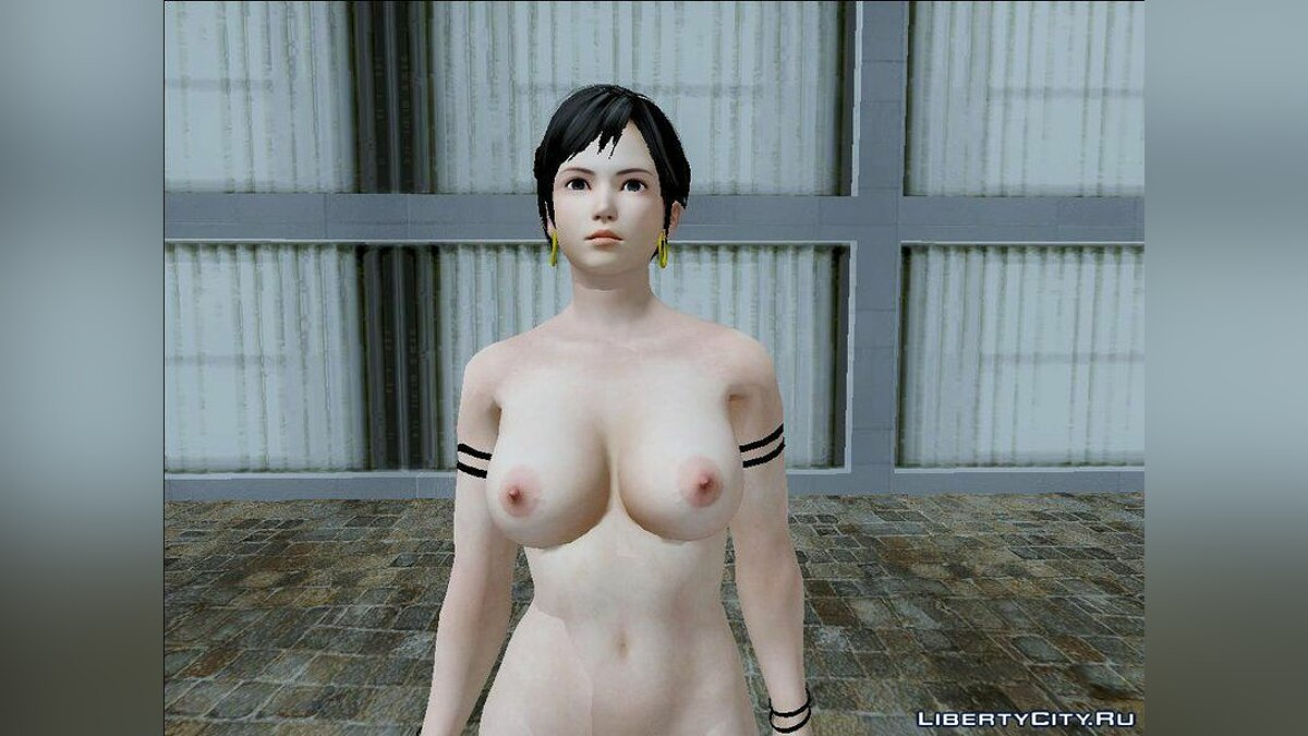 Skin Kokoro Nude v1.0 From Dead Or Alive 5 Last Round для GTA San Andreas