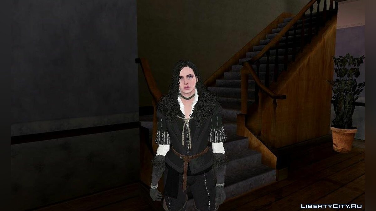 Yennefer From The Witcher 3 Wild Hunt для GTA San Andreas