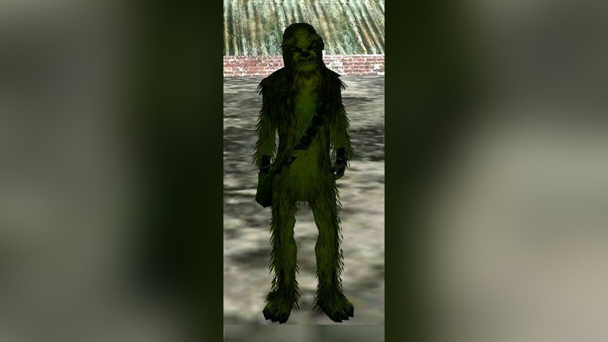 Chewbacca (Green version) для GTA San Andreas