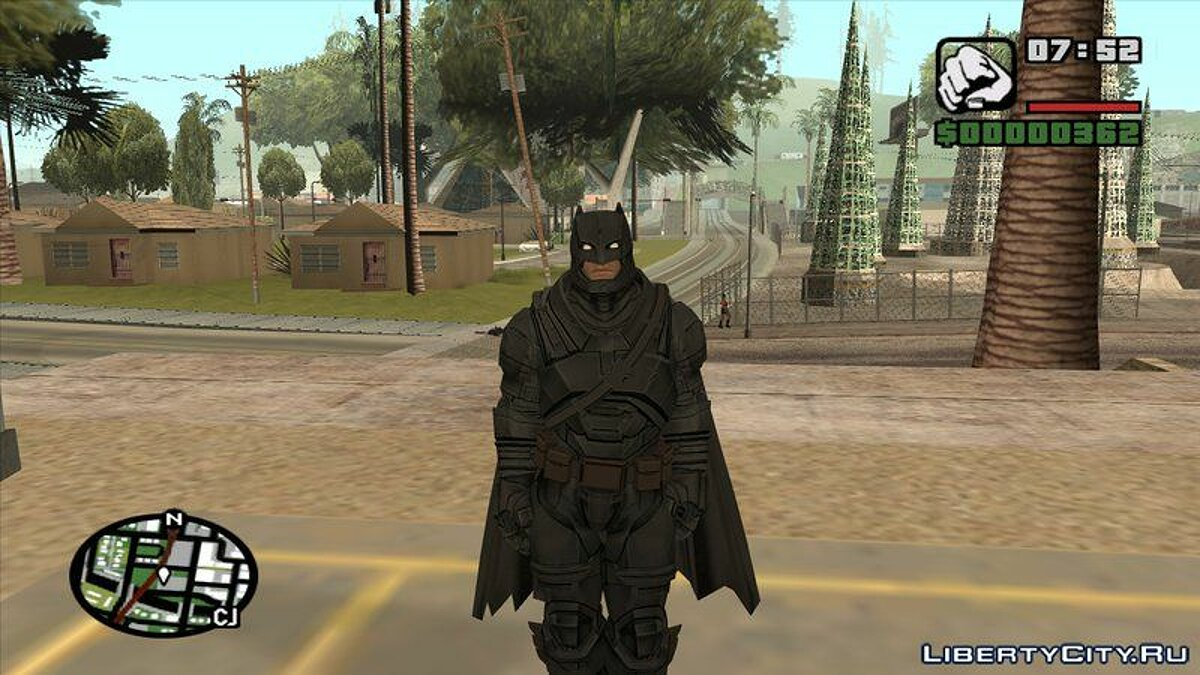 Batman VS Superman Batman Armor для GTA San Andreas - скриншот #2