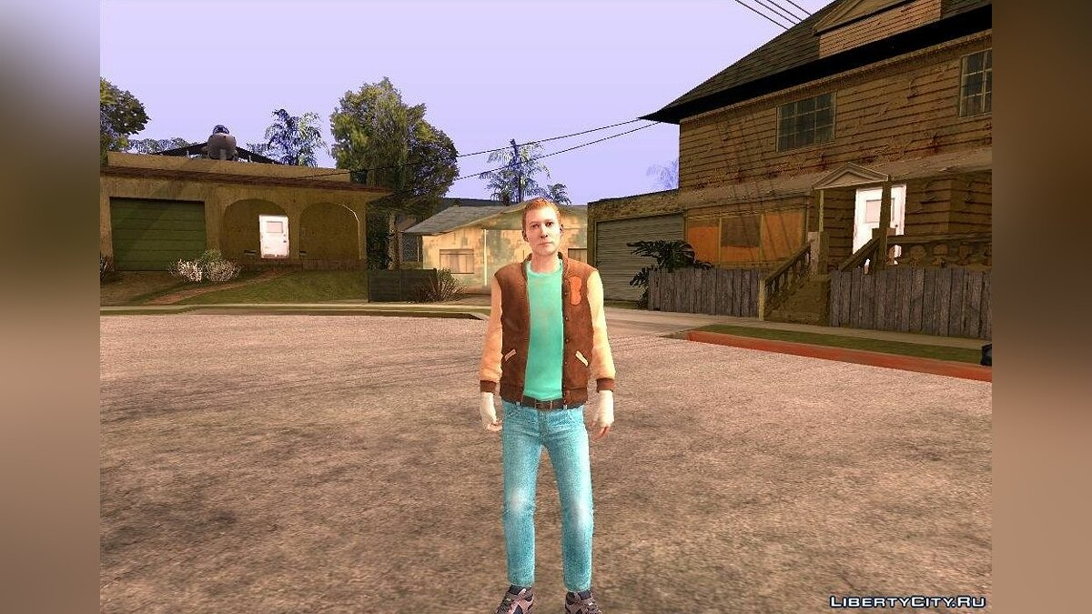 Jacket Payday2 Hotline Miami v2 для GTA San Andreas для GTA San Andreas