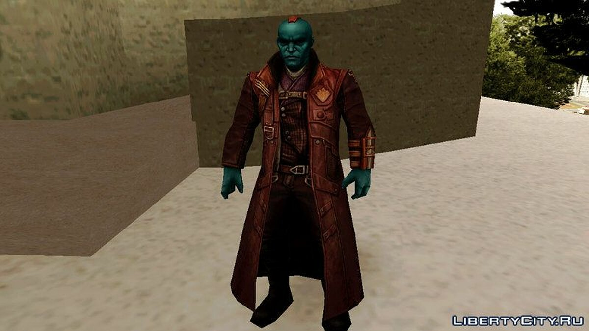 Marvel Future Fight - Yondu для GTA San Andreas