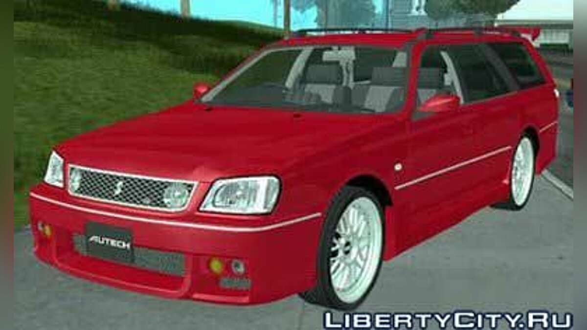 Nissan Stagea 25RS four S для GTA San Andreas